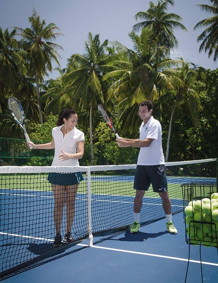 Train with Jim Courier Tennis